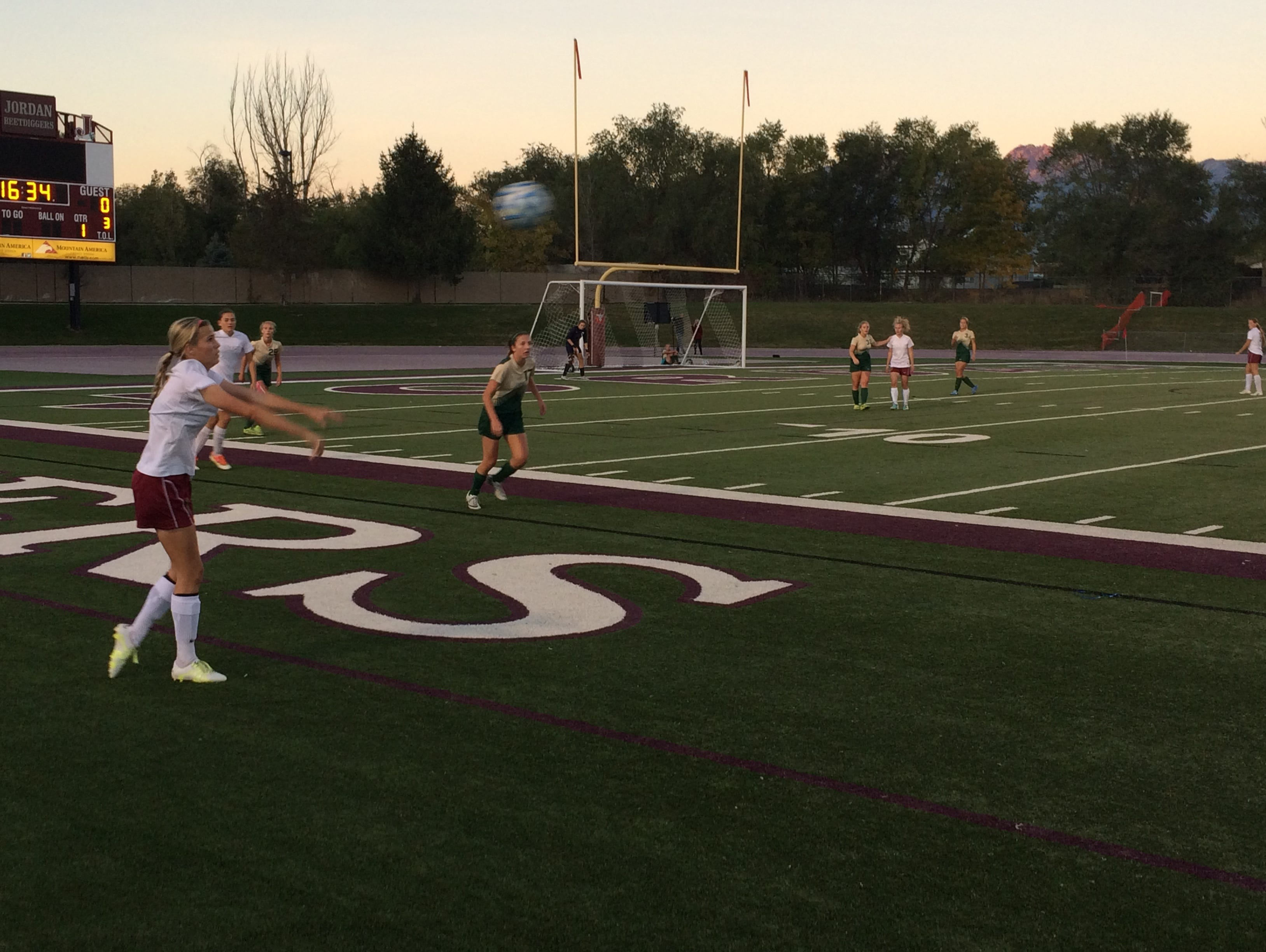 Cedar defeated Snow Canyon 1-0 during the 3A semifinals at Jordan High School on Friday. The Lady Reds will take on Logan at Rio Tinto Stadium on Saturday for the 3A crown.