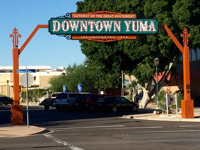 Historic downtown Yuma is a great destination for shopping,