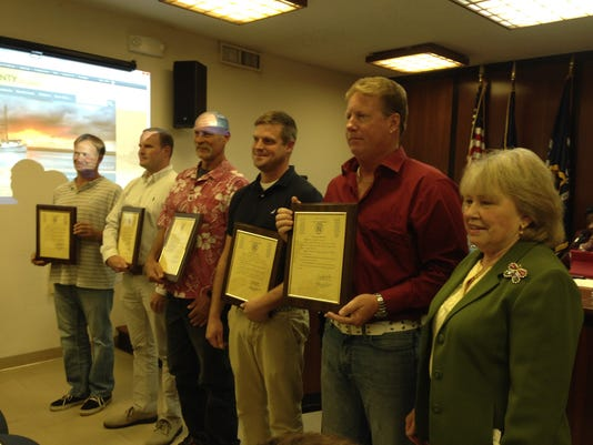 Surfers who rescued teens at Assateague honored