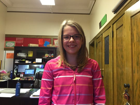 Annabelle Kambic, a sixth-grader, read more than 5,000