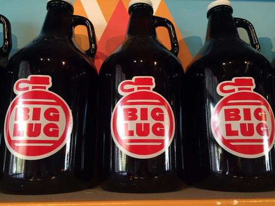 Growlers at Big Lug Canteen.