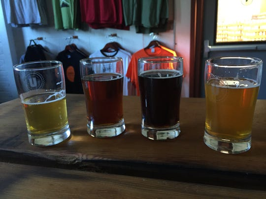 Union Craft Brewing's Anthem, Balt, Blackwing Lager and Double Duckpin are usually on draft at the brewery near Clipper Mill.