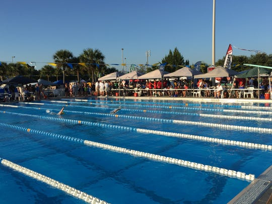 Perfect day for Region 1-2A Swimming Championships