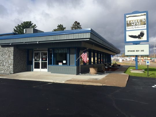 The new Eagle's Nest Family Restaurant is located at 280 Grand Ave., Schofield.