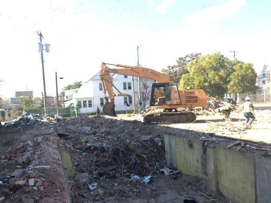 Demolition of 536 N. High Street