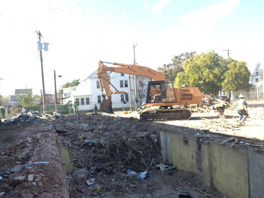 Demolition of 536 N. High Street