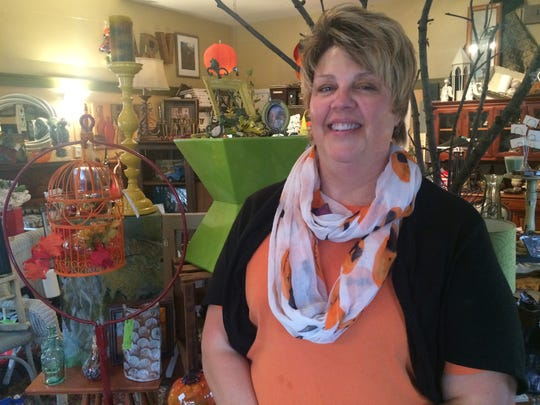 Lisa Wuertz owns Bonna Shops, a local store along the extended Irvington greenway. Wuertz says the trail has brought new customers to her business.
