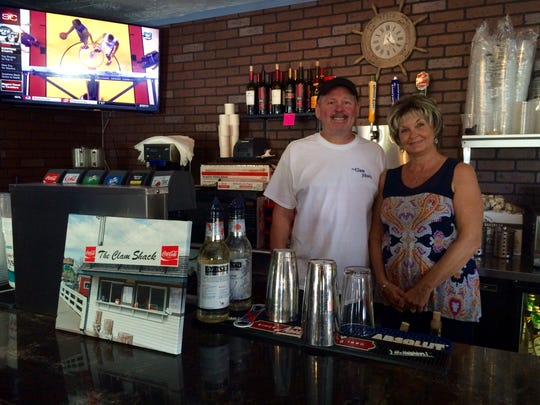 Mark and Laurie Thomas opened The Clam Shack in September in the former Greenhouse Grill space on Sanibel.