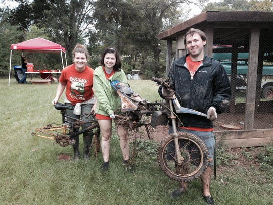 Bikes, dirtbike and more collected Saturday from the