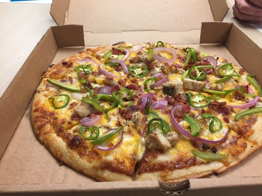 The Ponderosa Stomp pizza from O'Zone Pizza Pub.