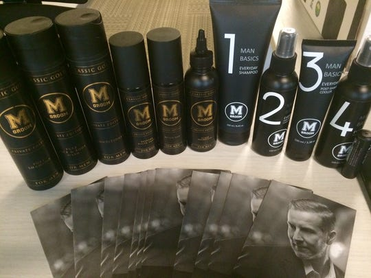 M Room offers its own product line, called M Groom.