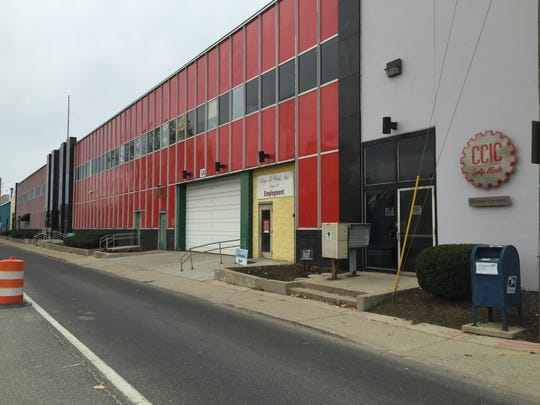 """When searching for Lick, look for Circle City Industrial Complex's main along Brookside Avenue. It's marked by sign in the shape of a large silver gear outlined in red and containing the moniker """"CCIC Indy-Made."""""""