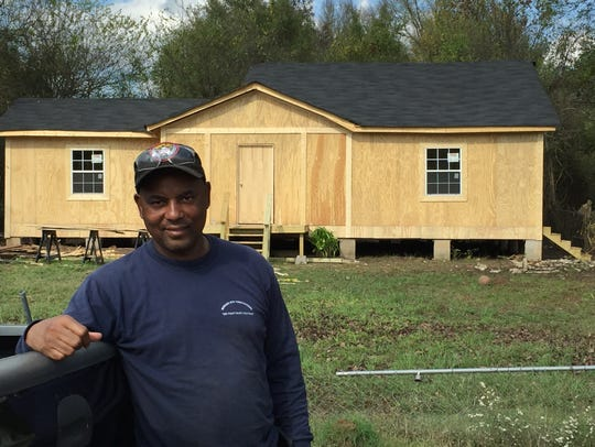 Jimmy Phillips, a property owner on Aline in the Martin