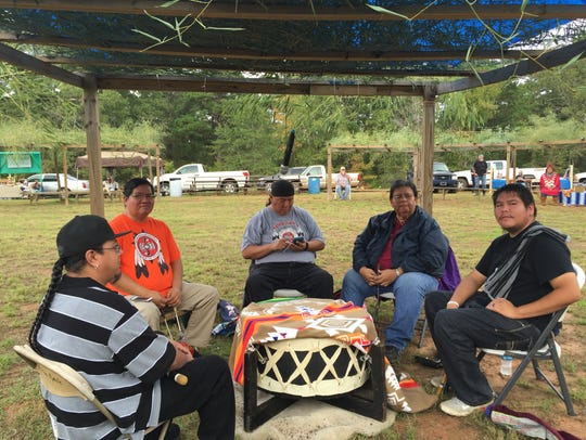 The AC Woodland group from the Alabama-Coushatta Tribe