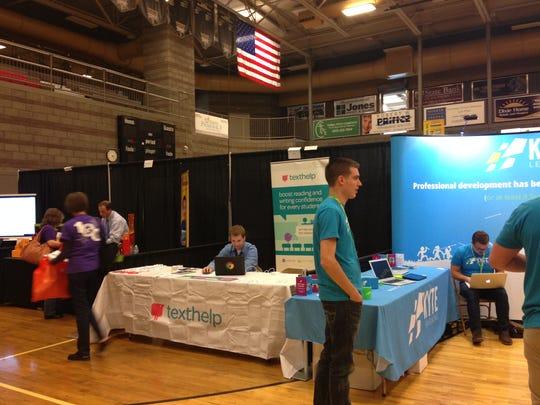 Vendors at the 2015 Southern Utah Educators Conference.