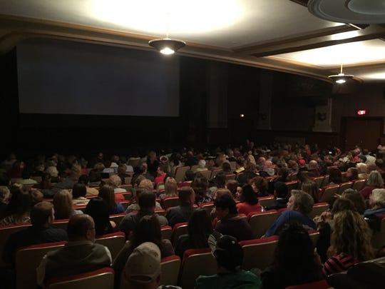 "An audience at the Strand-Capitol Theater on Saturday, Nov. 7, 2015 awaits a screening of the documentary ""Hex Hollow: Witchcraft and Murder in Pennsylvania."""