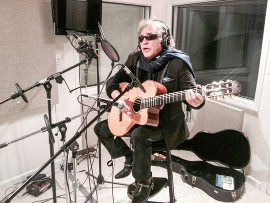"""Jose Feliciano  in a scene from """"The Latin Explosion: A New America."""""""