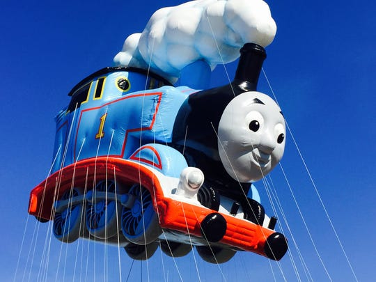 Thomas, the very useful engine, will chuff above Macy's