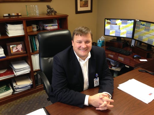 Jeff Blankenship is the CFO at West Tennessee Healthcare