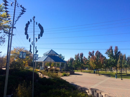 If you're looking to stay in town, Farmington's Berg Park can be a good spot to take friends and relatives visiting over the holidays.