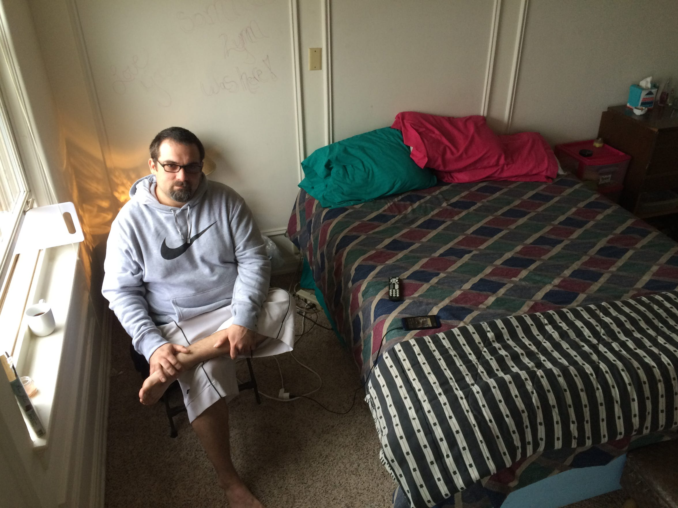 Shannon Wojciechowski found a one-room efficiency in the Landmark in downtown Wausau thanks to a mix of luck and persistence.