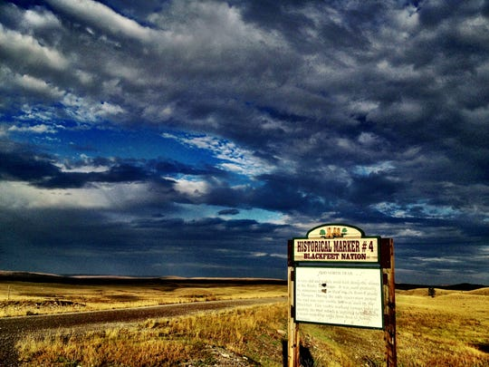 On the Blackfeet Reservation