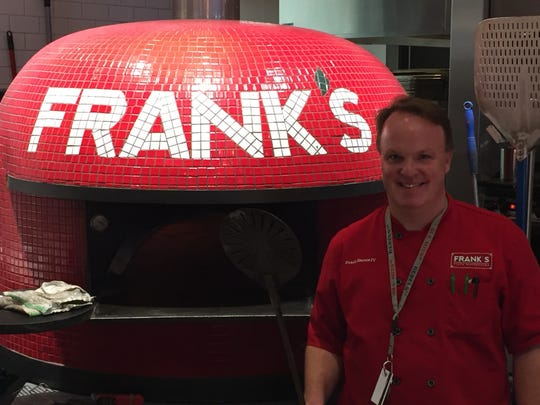 Frank Harris, the owner of Frank's Pizza Napoletana,