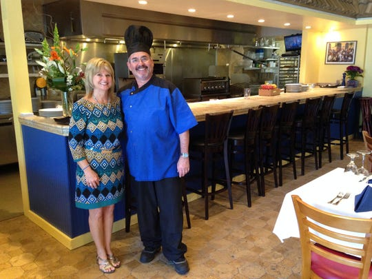Chef Christian Vivet and his wife, Mari, own Bleu Rendez-Vous