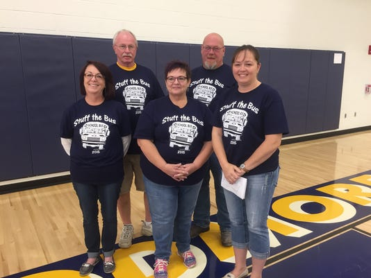 Woodmore completes food drive