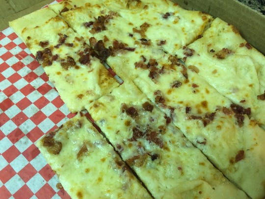 Ch-Bacon Sticks are among the must-try items at Riggatti's Wood Fired Pizza.