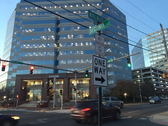 One of the most profitable red-light cameras sits at Second at Walnut Street in Wilmington.