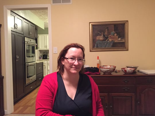Heather Stith talks about the death of her mother, Deborah Poland, in her Carmel home.