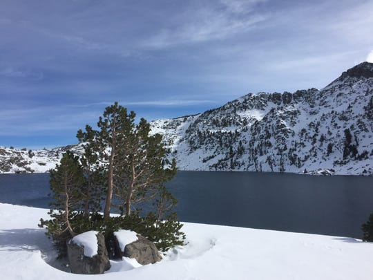 Winnemucca Lake near the Carson Pass is a popular backcountry destination for good reason.