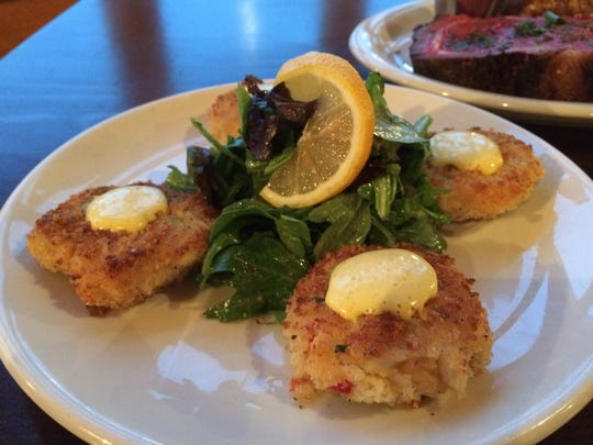 Crab cakes are so popular with customers at Lake House Supper Club that they are on the dinner, lunch and brunch menus.