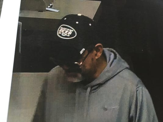 Spring Valley bank robber