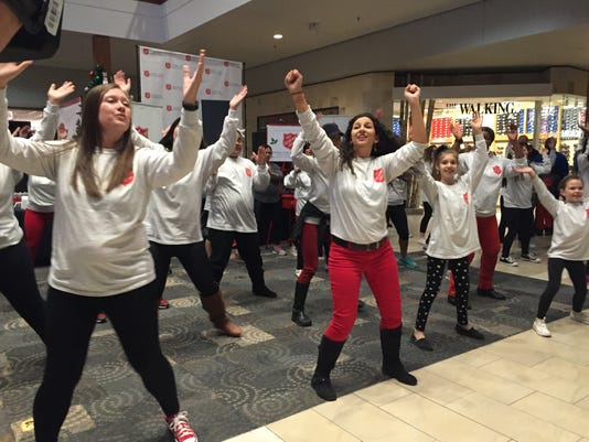 Salvation Army Flash Mob