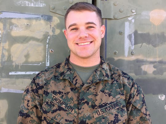 Marine Corps Sgt. Christopher Thompson, 24, Tulsa.