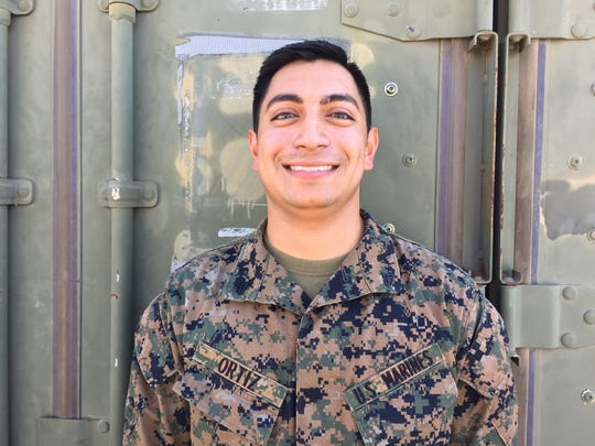 Marine Corps Cpl. Luis Ortiz, 25, South Sioux City, Nebraska