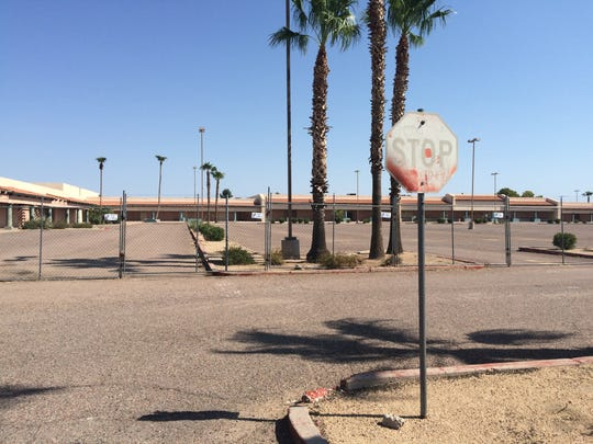 An empty, crumbling strip mall on the northwestern corner of Alma School Road and Southern Avenue in Mesa is the most commonly identified eyesore in the East Valley.