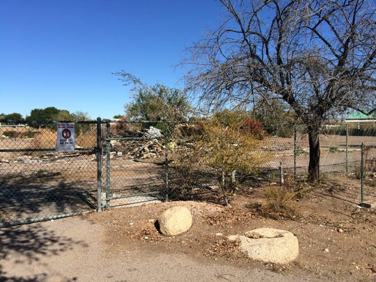 Harper's Nursery closed in 2014 after more than five decades in business and quickly became a neighborhood eyesore. Rubble, trash and debris are strewn across the property, located on McKellips Road west of Gilbert Road in Mesa.
