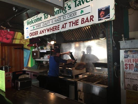 Romig's Tavern in Rochester is one of the true neighborhood gems in this region. It features insanely low beer prices and great chicken wings.
