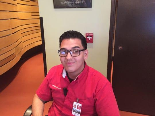 Robert Barraza, Heard Museum security officer.