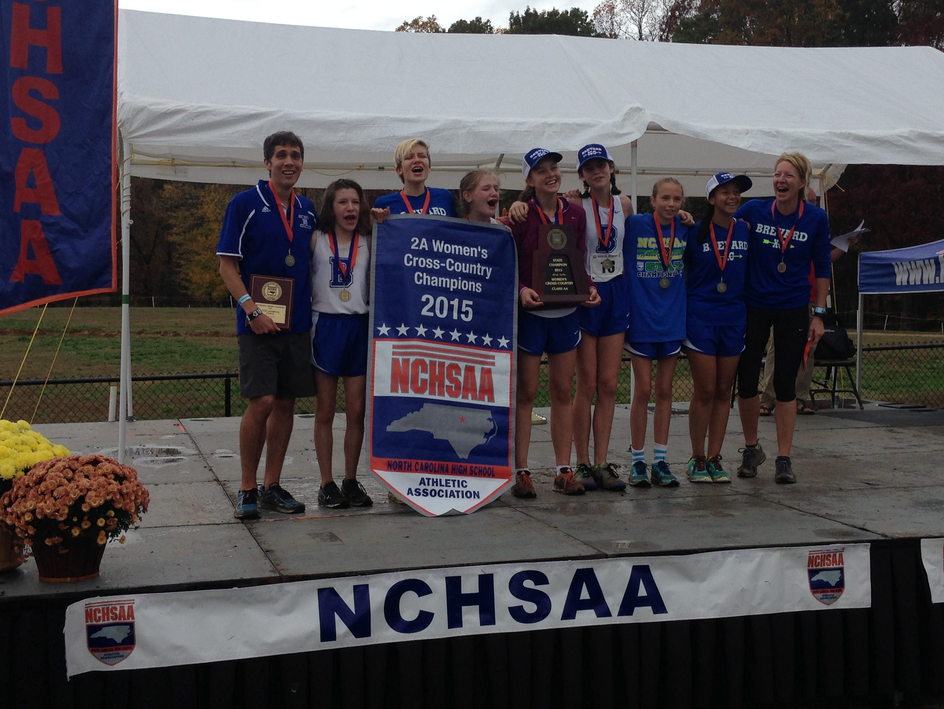 Brevard won the NCHSAA 2-A cross country championship earlier this month.