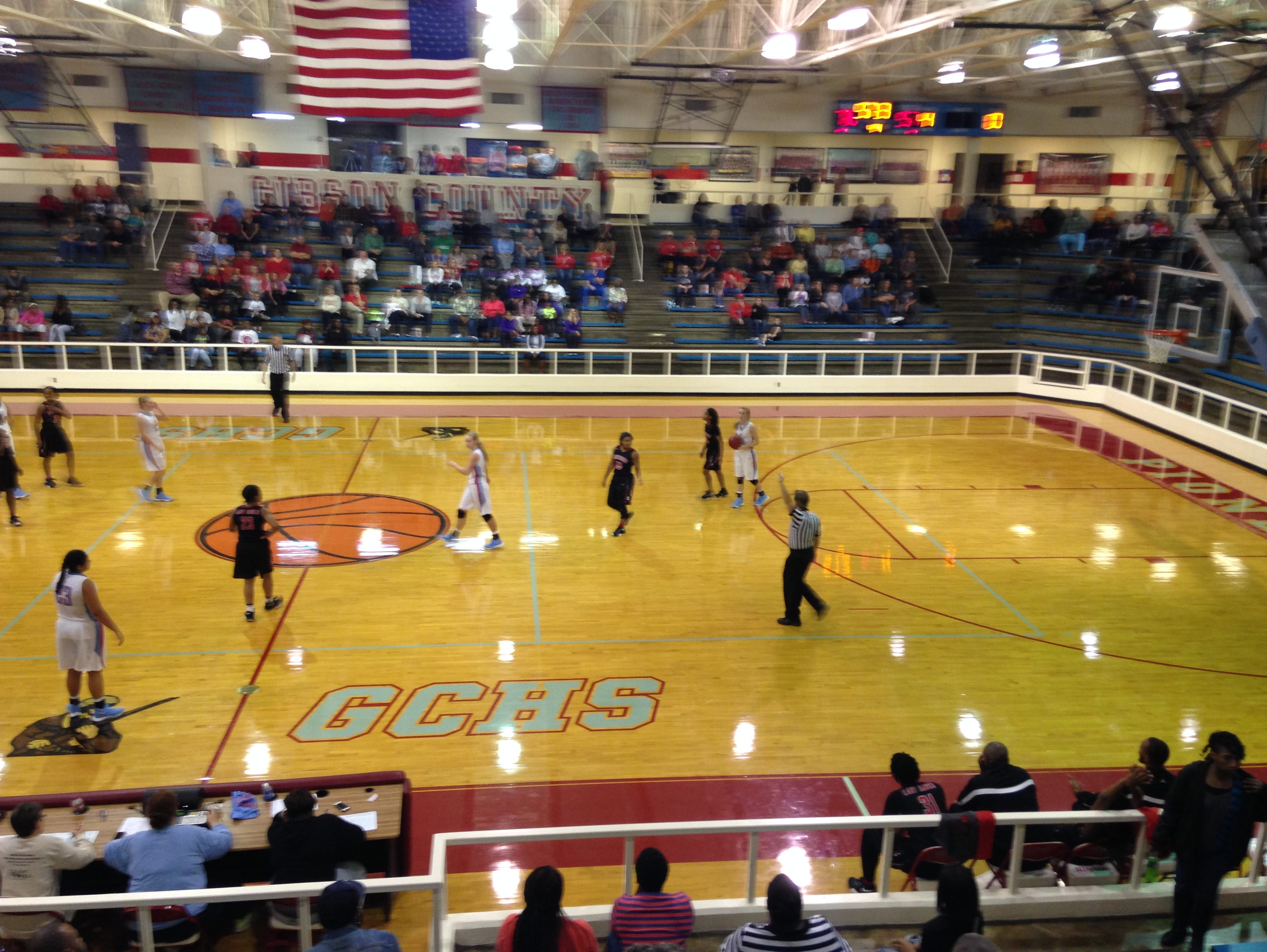 The Gibson County girls beat South Side 78-60 on Friday.