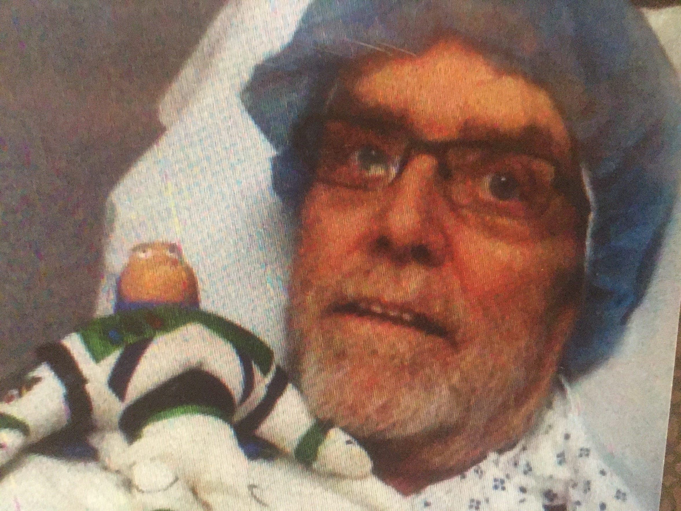 Kenneth Kummer's grandson gave him a Buzz Lightyear doll to help him get through his cancer treatments. Cancer kills Kentuckians at the nation's highest rate.