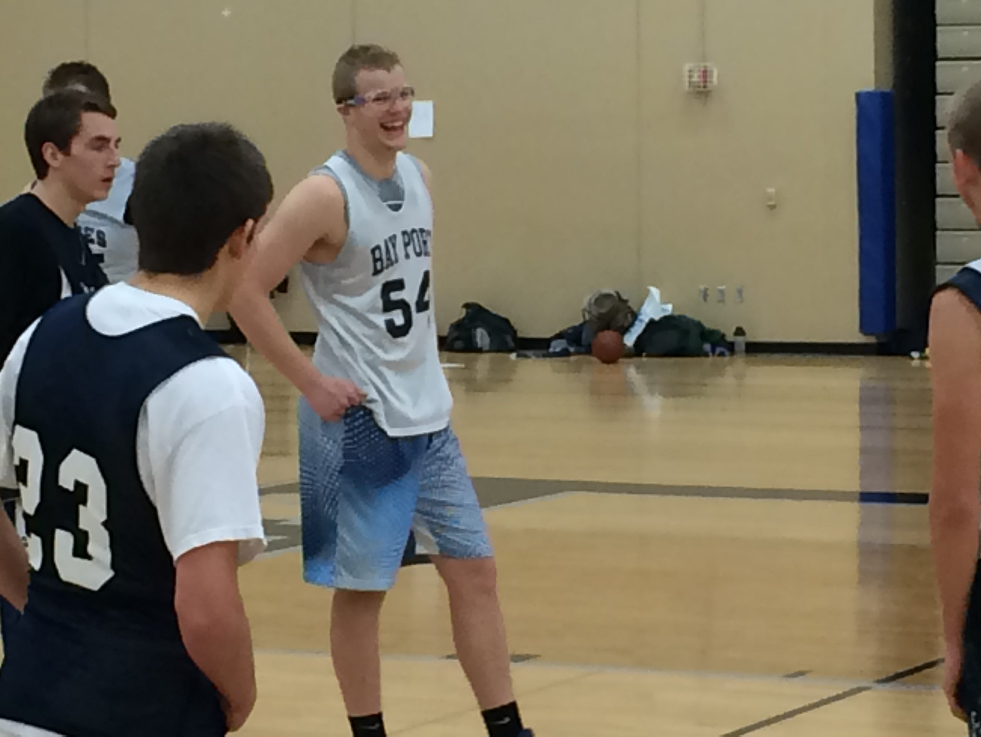 Bay port sophomore Jack Plumb already has received two Division I offers.