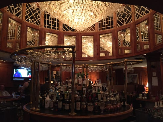 The bar at the Incline Lounge at The Celestial.