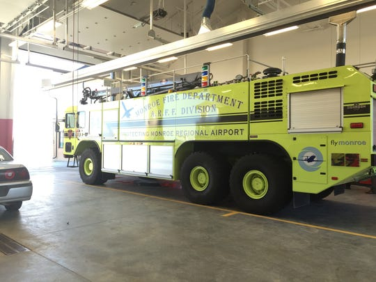 The Monroe Fire Department officially opened its Airport