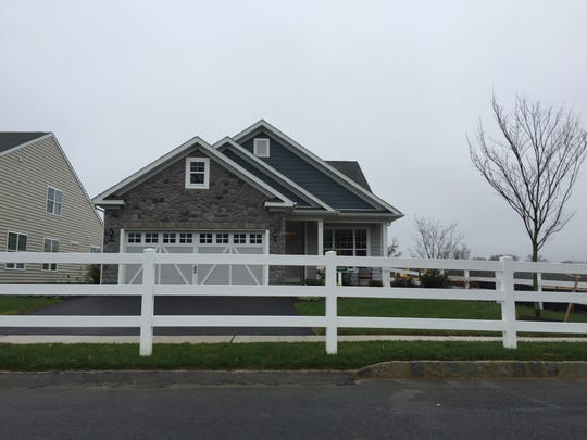 The Grenada model home at the Four Seasons at Monmouth Woods.