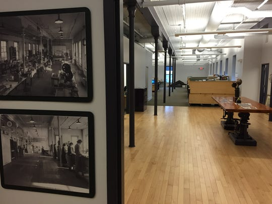 Throughout the company offices, vintage photographs